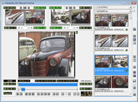 Manual Trimmer window of HandySaw DS - video scene detection software. Click to see large picture